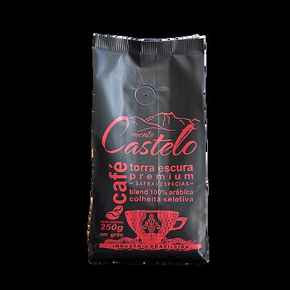 CAFÉ MONTE CASTELO TORRA ESCURA 250g/Grãos