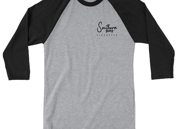 Sons Lifestyle 3/4 sleeve raglan shirt
