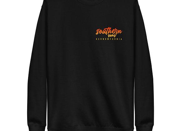 Sunset Unisex Fleece Pullover