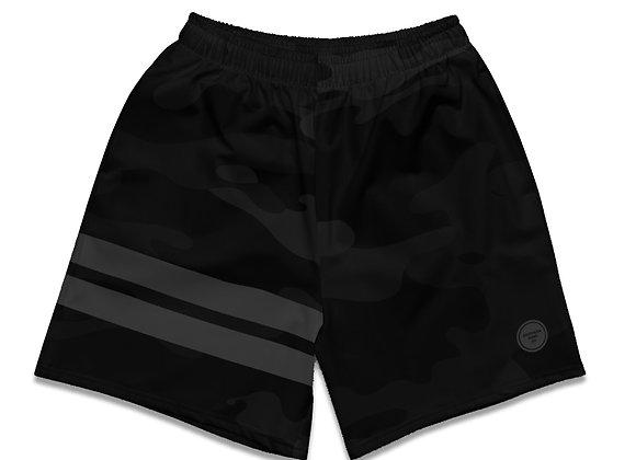 Camo Shorts - Black