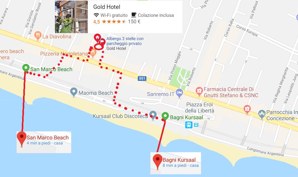 Sole, mare, relax, buona cucina e la spiaggia a due passi: Pasqua 2018 al Gold Hotel di Bordighera è davvero speciale e conveniente!