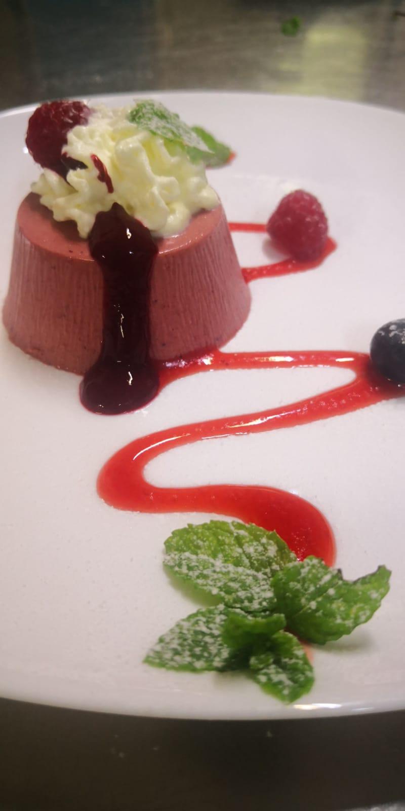Dessert della casa  | Ristornate Gold Hotel