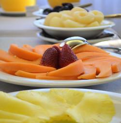 Frutta fresca a colazione Dessert | Ristornate Gold Hotel Bordighera