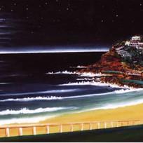 Bronte Beach by Night
