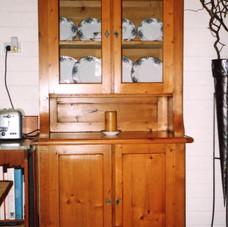 Kitchen cabinet restored