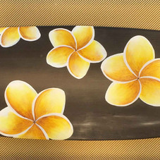 frangipani surfboard