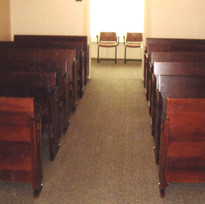 Chapel Pews Fully Restored
