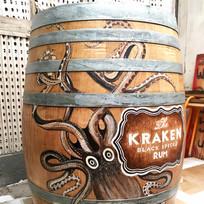 Kraken Oak Barrel