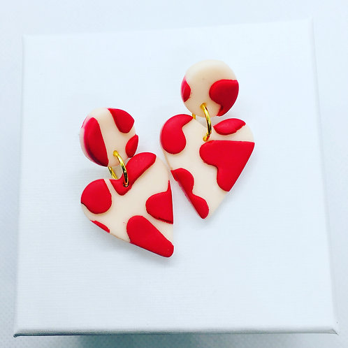 LOVE LOVE LOVE - Medium  Earring