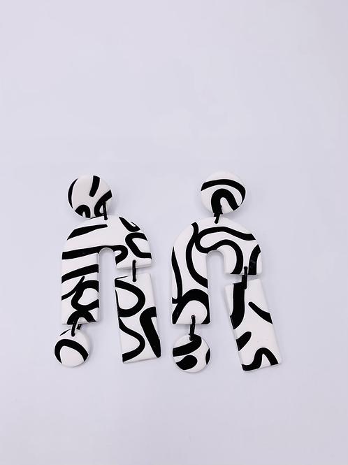 Octopussy - Statement Shape (White)