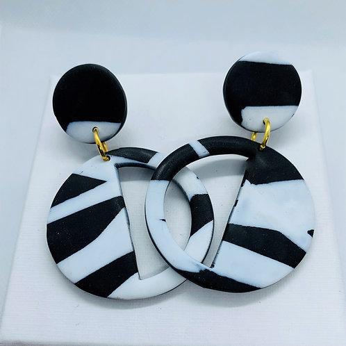 Embers - Deco Earring