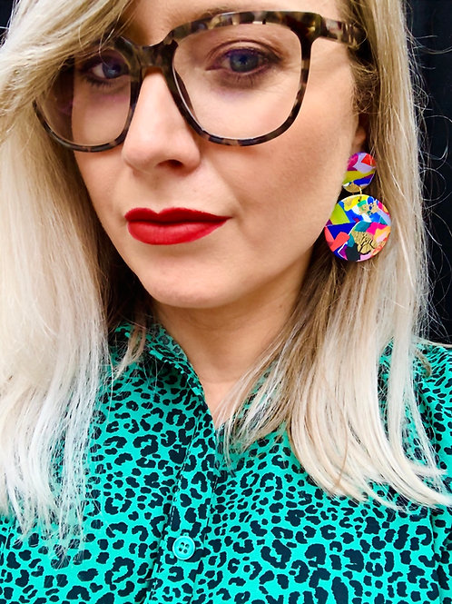The 80s - Statement Earring