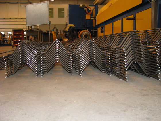 New Upper Bar Support Manufacturing Line