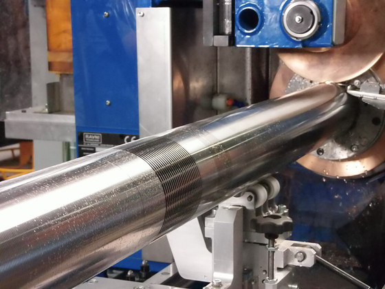 New generation of cylindrical filtration wire screen wrap machines - NOW flat screens, too!