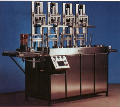 Centrifugal Ultrasonic Cleaning Systems For Springs And Other Small Components