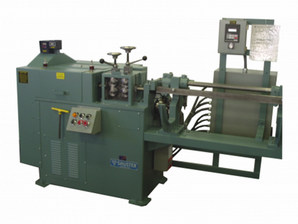 AUTOMATIC WIRE STRAIGHTENING AND CUTTING MACHINES