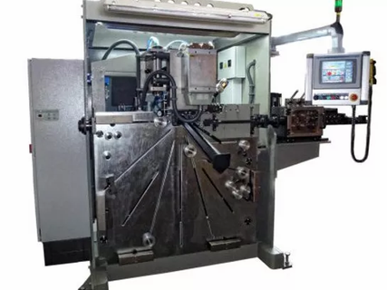 AUTOMATIC RING FORMING AND WELDING MACHINES WITH DEBURRING CAPABILITY