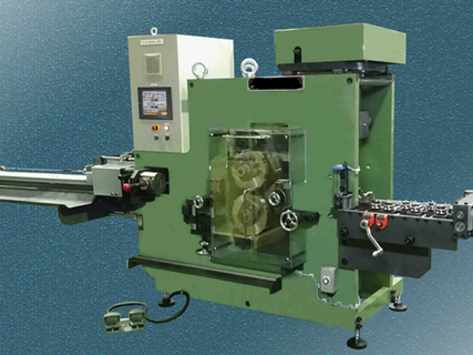 AUTOMATIC WIRE CRIMPING MACHINES