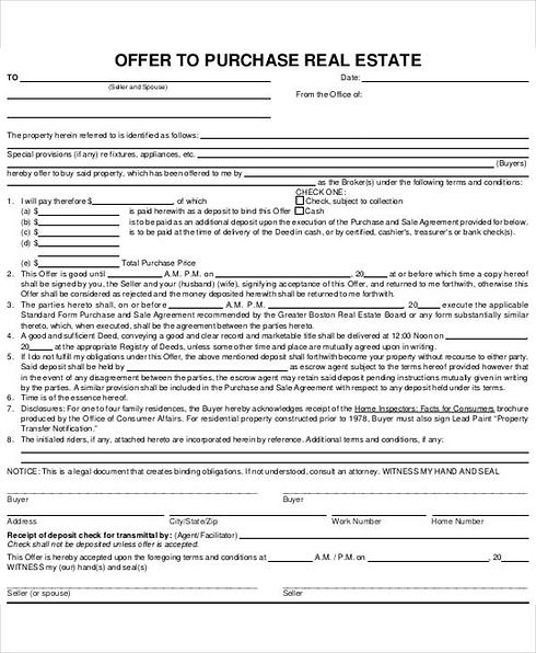 9.-Real-Estate-Offer-Letter-to-Purchase.