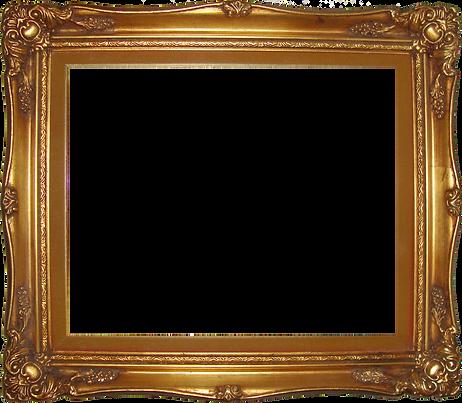 Golden-Frame-Transparent-Background-PNG.