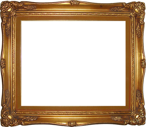 Golden-Frame-Transparent-Background-PNG.