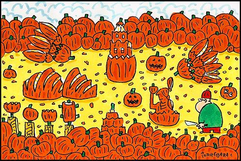 Original Fall Watercolor - 12