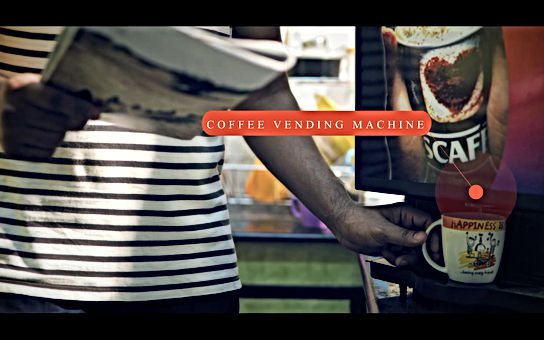 coffee vending machine for . students