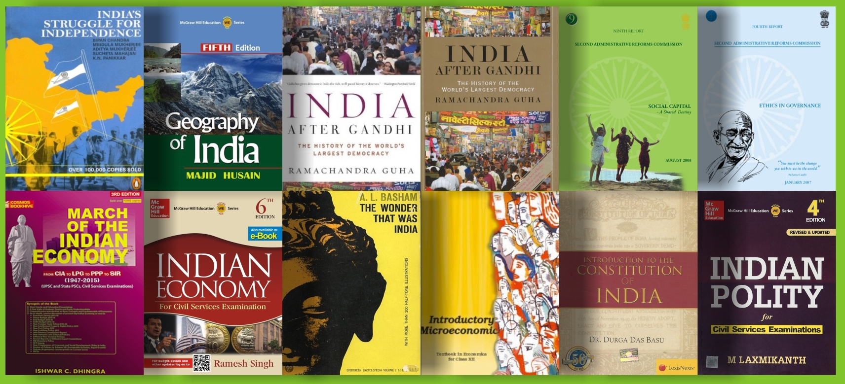 Books for UPSC Exam