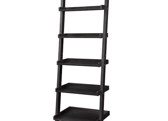 Ladder Bookshelf in Cappuccino