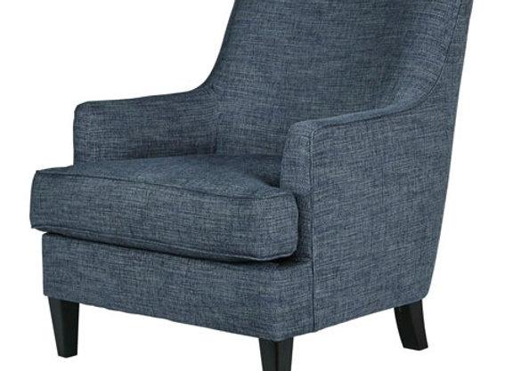 Tenino Accent Chair in Indigo Blue
