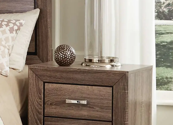 Kauffman 2-Drawer Nightstand