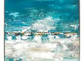 Meditation Framed Oil Painting
