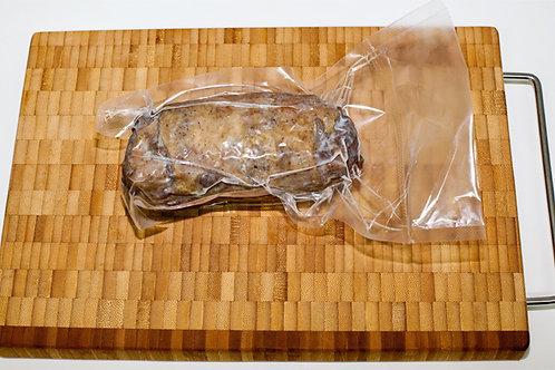 Мини рулет из мяса гуся копченый с чесноком, 100гр