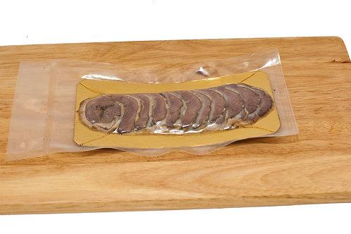 Мини-рулет из мяса гуся копченый, 85 гр