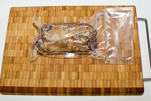 Мини рулет из мяса гуся копченый с грибами, 100 гр