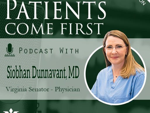 Senator Dunnavant on the Virginia Hospital & Healthcare Association Patients Come First Podcast