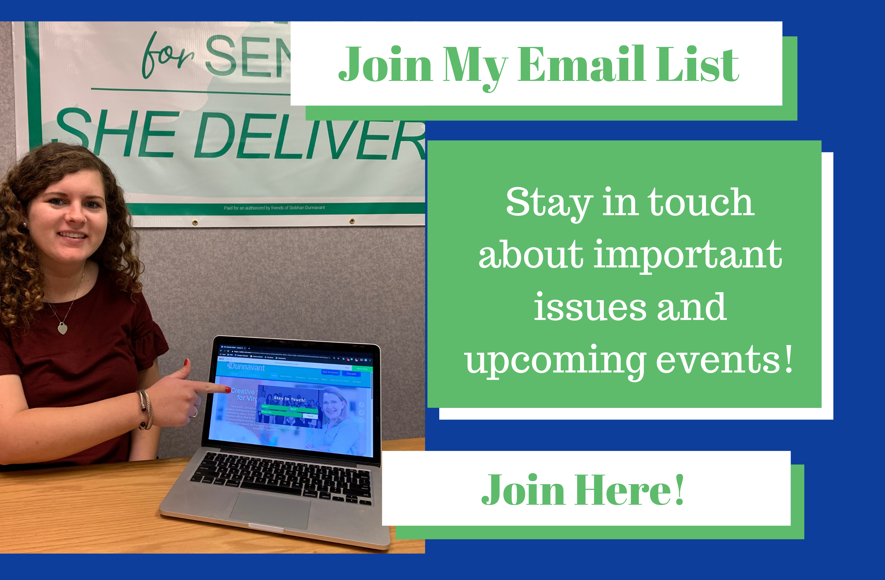 Join my Email List