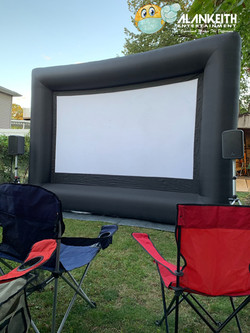 Jumbo 16ft Movie Screen