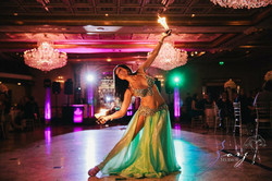 Fire Special Effects Belly Dancer