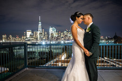 NYC SkyLine Couple