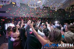 NJ Wedding DJ Company Co2 Confetti