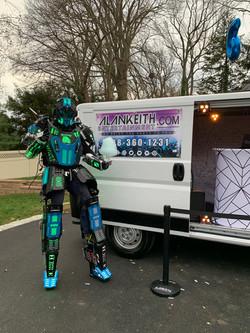 Robot with DJ Truck