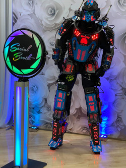 LED Robot & LED Booth