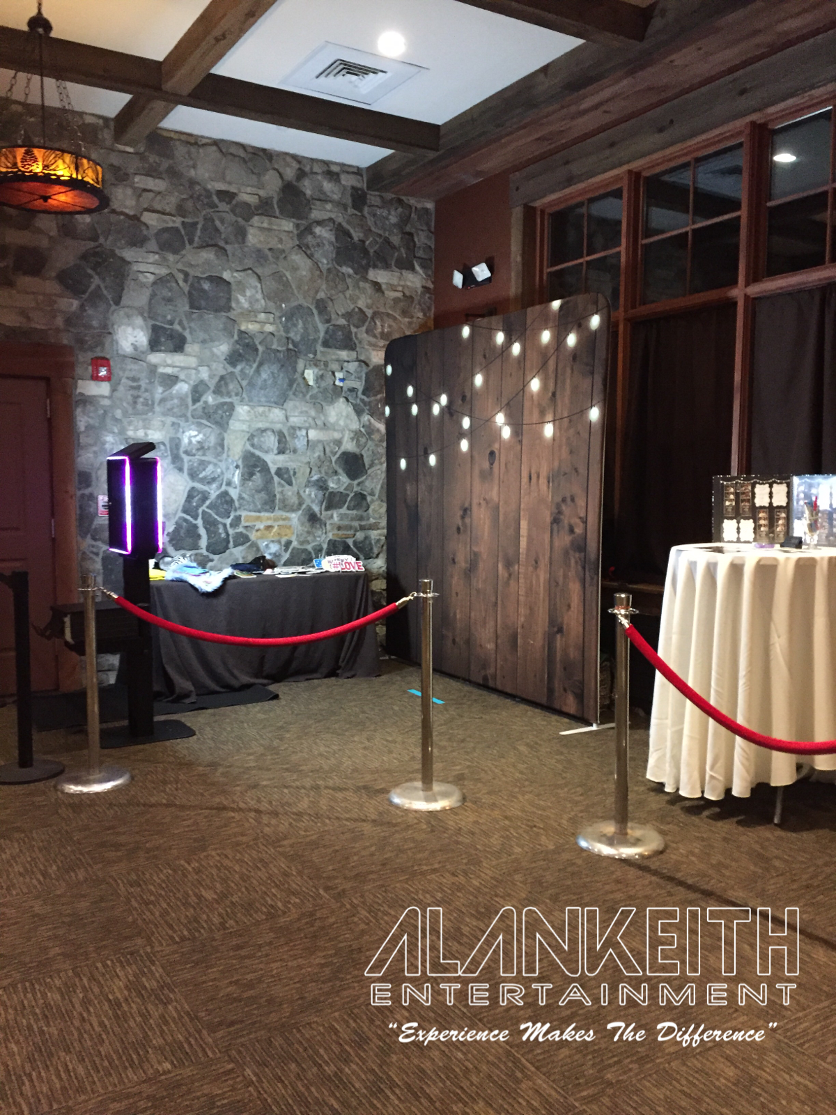 Open Air Style Photo Booth
