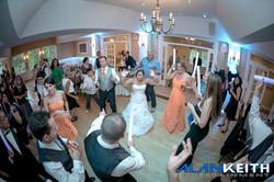 Bride is Rockin the floor