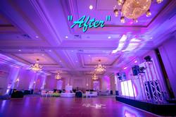 #Ballroom uplighting