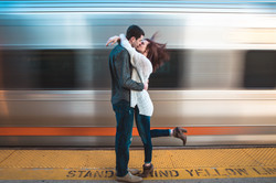 High Speed Train Kiss