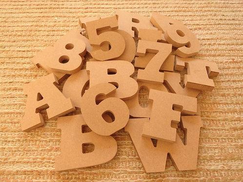 Letras em MDF 15 mm