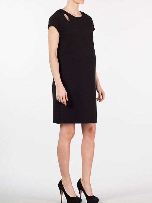 ATTESA - Robe de grossesse noire