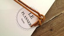 Le PLANNER by Paullele... Ou, comment bien s'organiser.